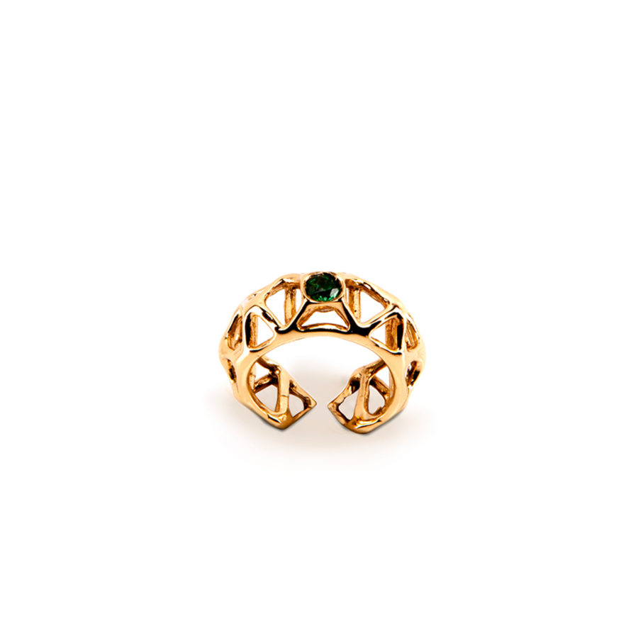 Beamette Gold Ring | Industrial Archeology Collection by Co.Ro. Jewels