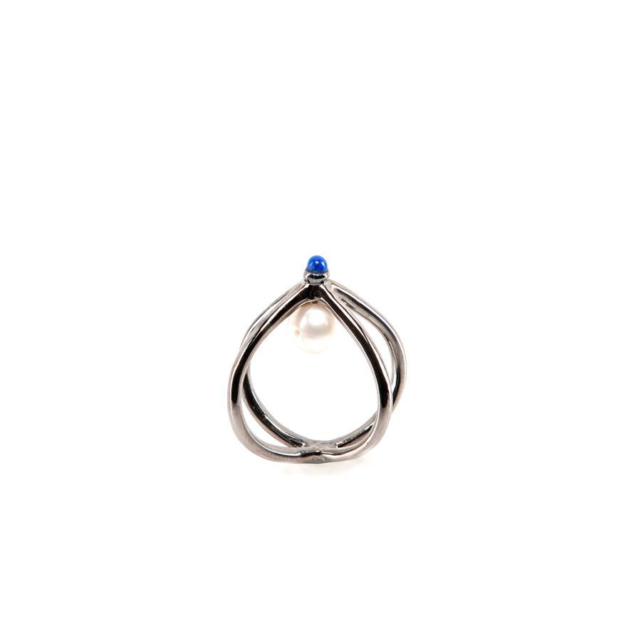 wire-anello-dettaglio-argento-e-blu