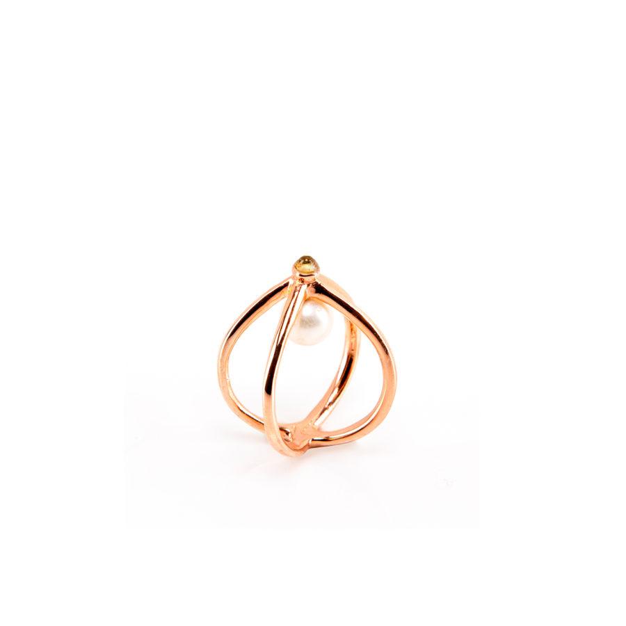 wire-anello-dettaglio-oro-rosa