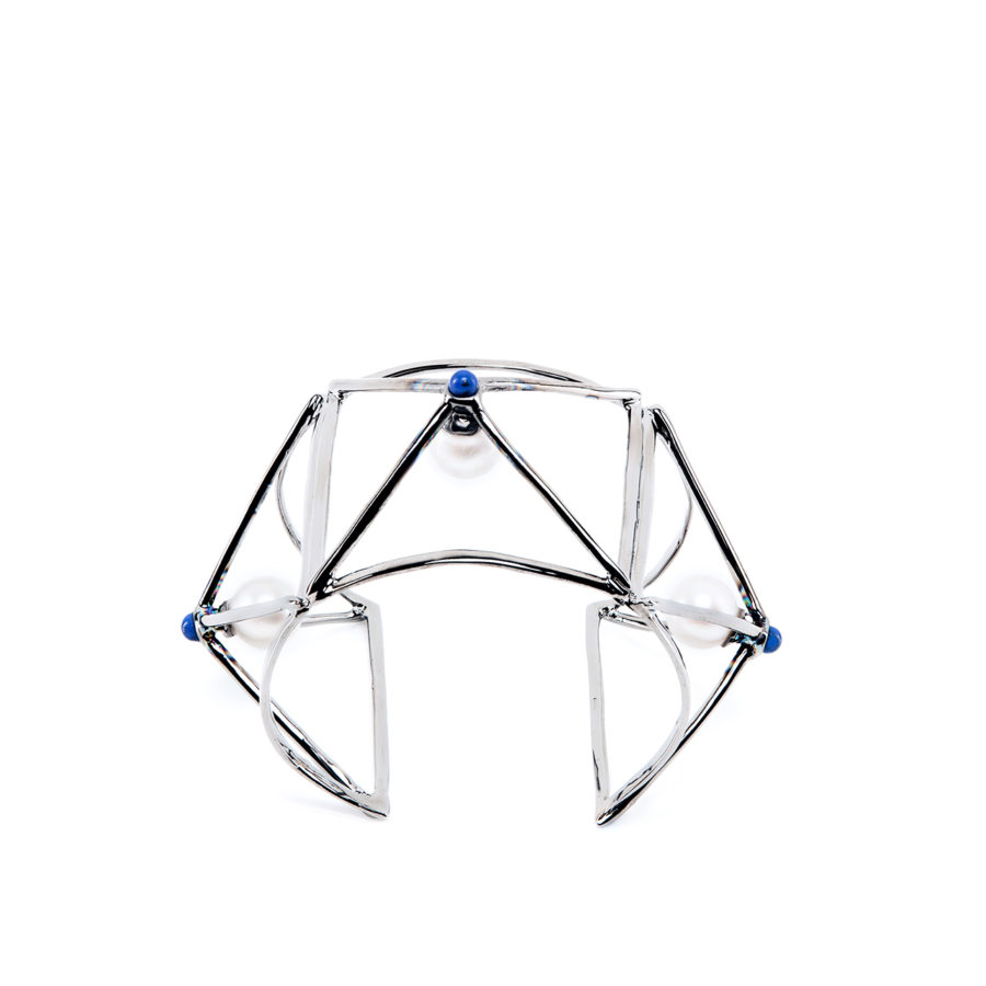 wire-bracciale-dettaglio-argento-e-smalto-blu