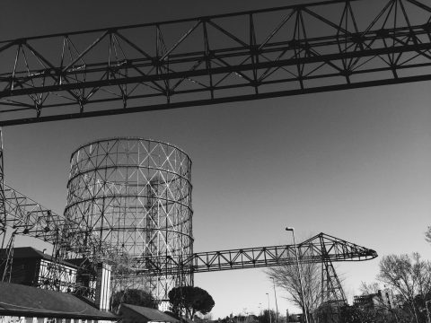 Gas Holder in Rome / Gasometro di Roma | Ostiense District | What Inspired Our Co.Ro. Jewels