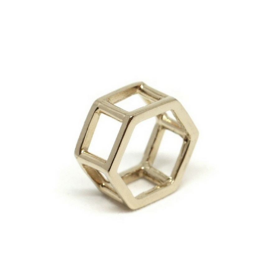 Double Hexagons Ring (Catalogue)