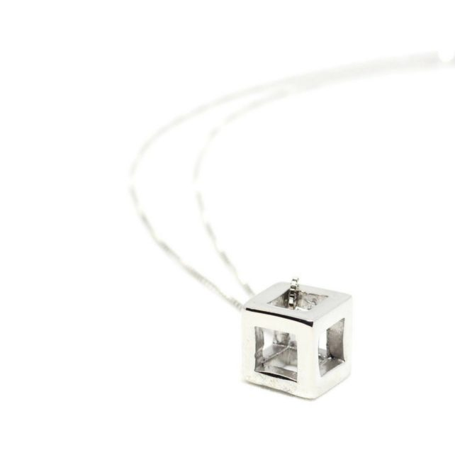 Q.Bo. Pendant Silver | Co.Ro. Jewels