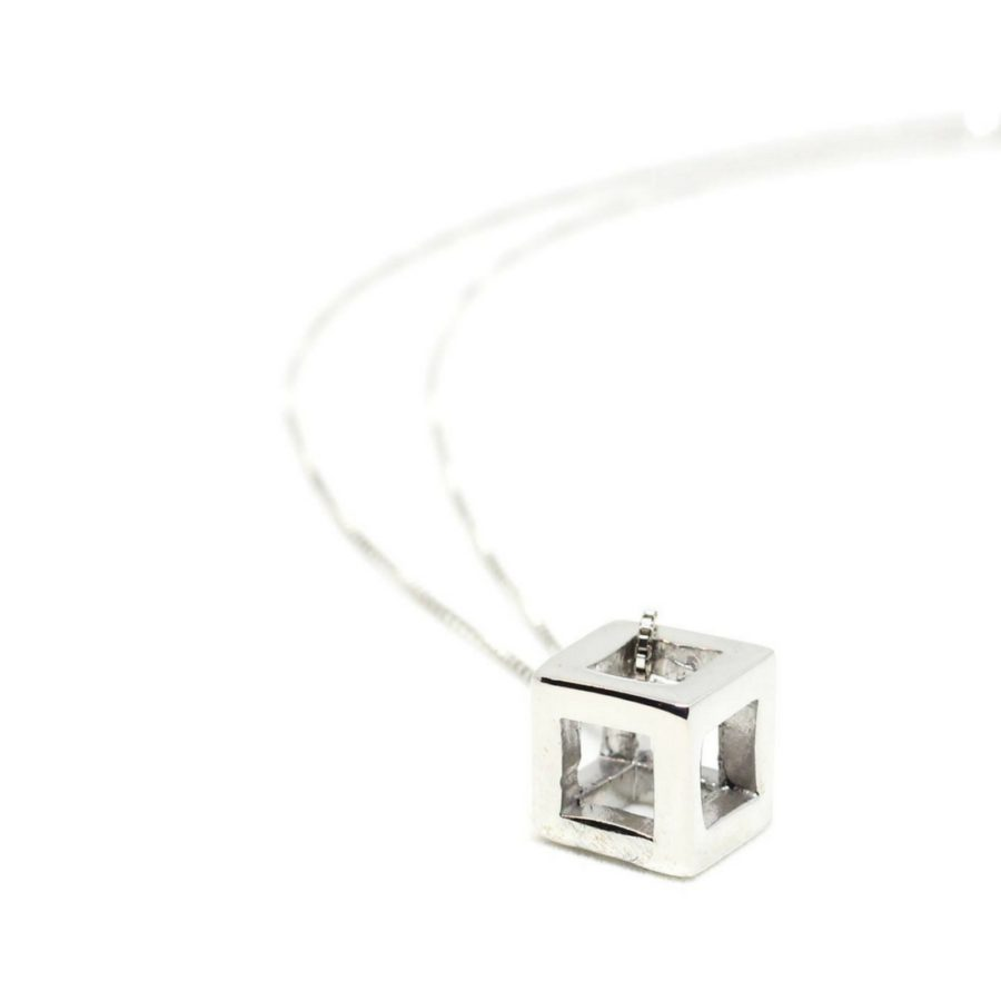 Q.Bo. Pendant Silver   Co.Ro. Jewels