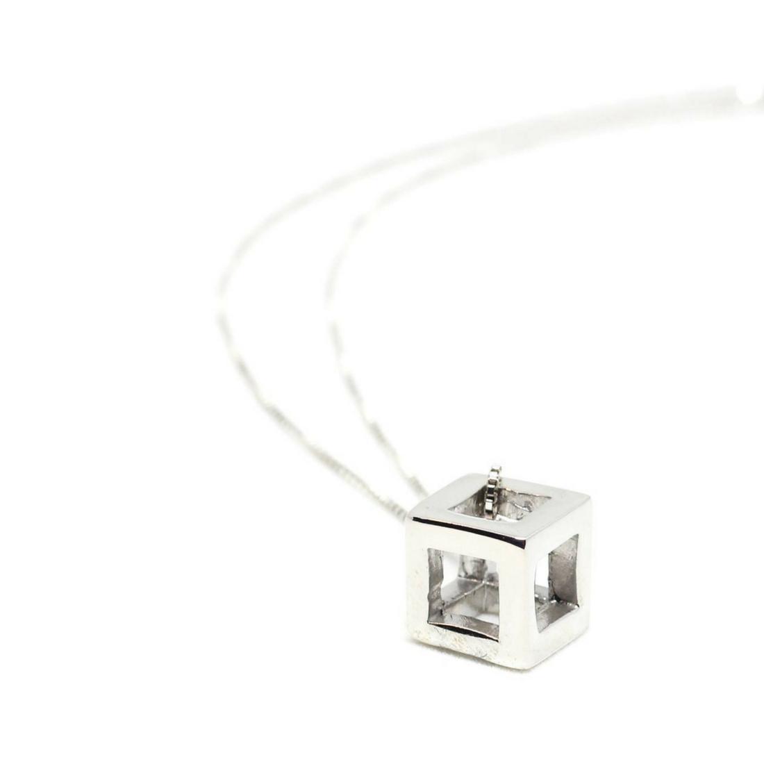 Q.Bo. Pendant Silver | Co.Ro. Jewels