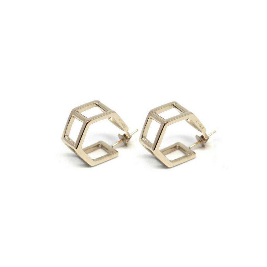 doublehexagons_earrings_gold