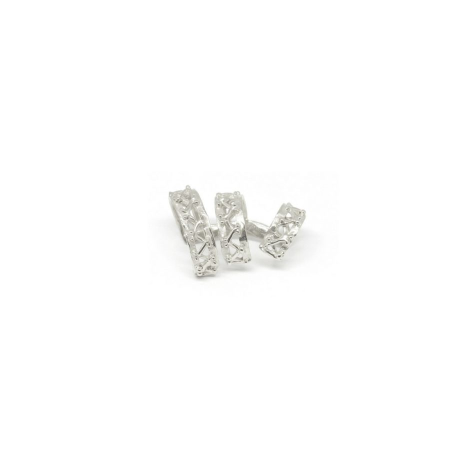 beam mono earrings silver catalogue