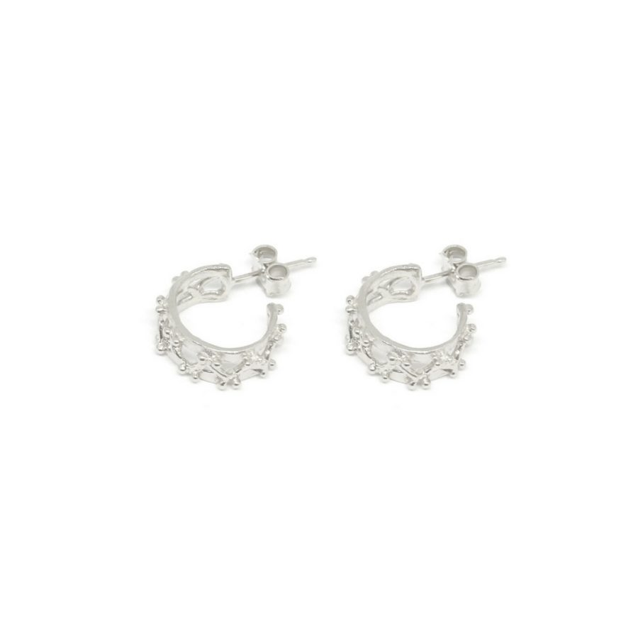 little beams hoop earrings silver catalogue