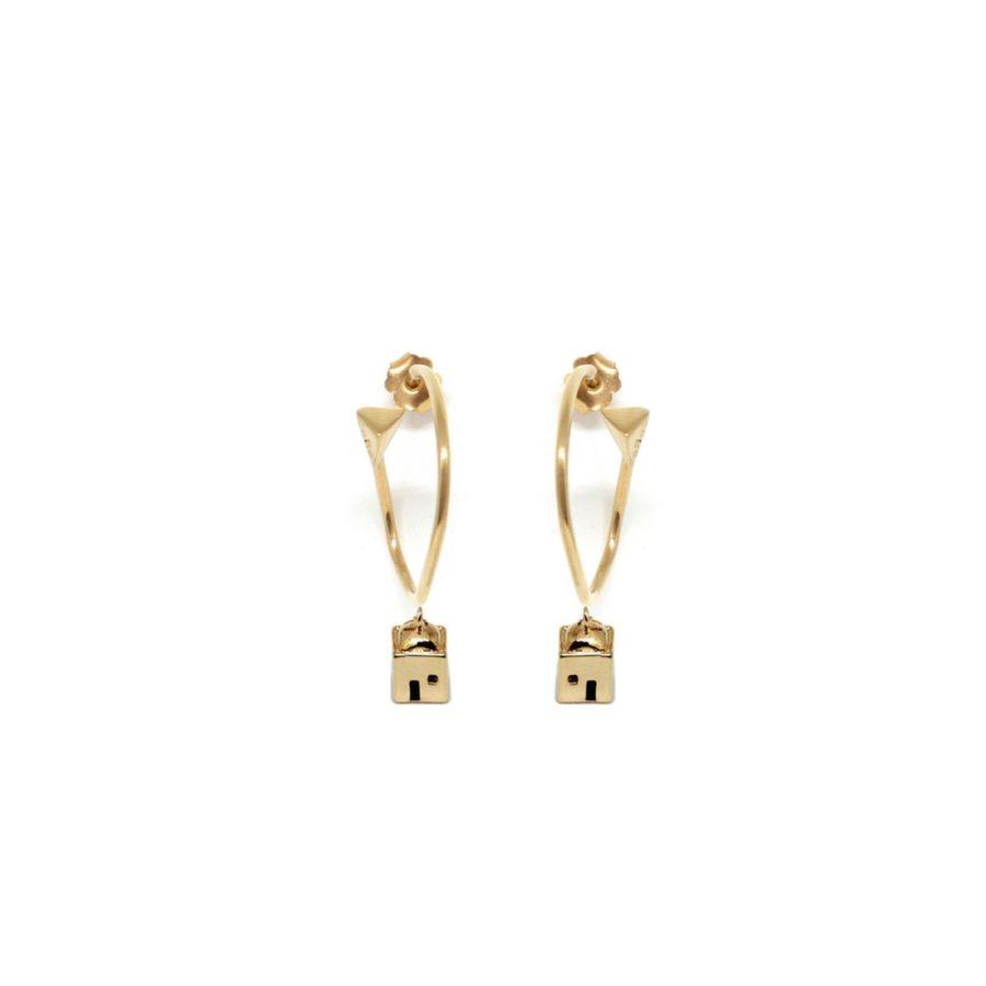 positano_mono_earrings_gold