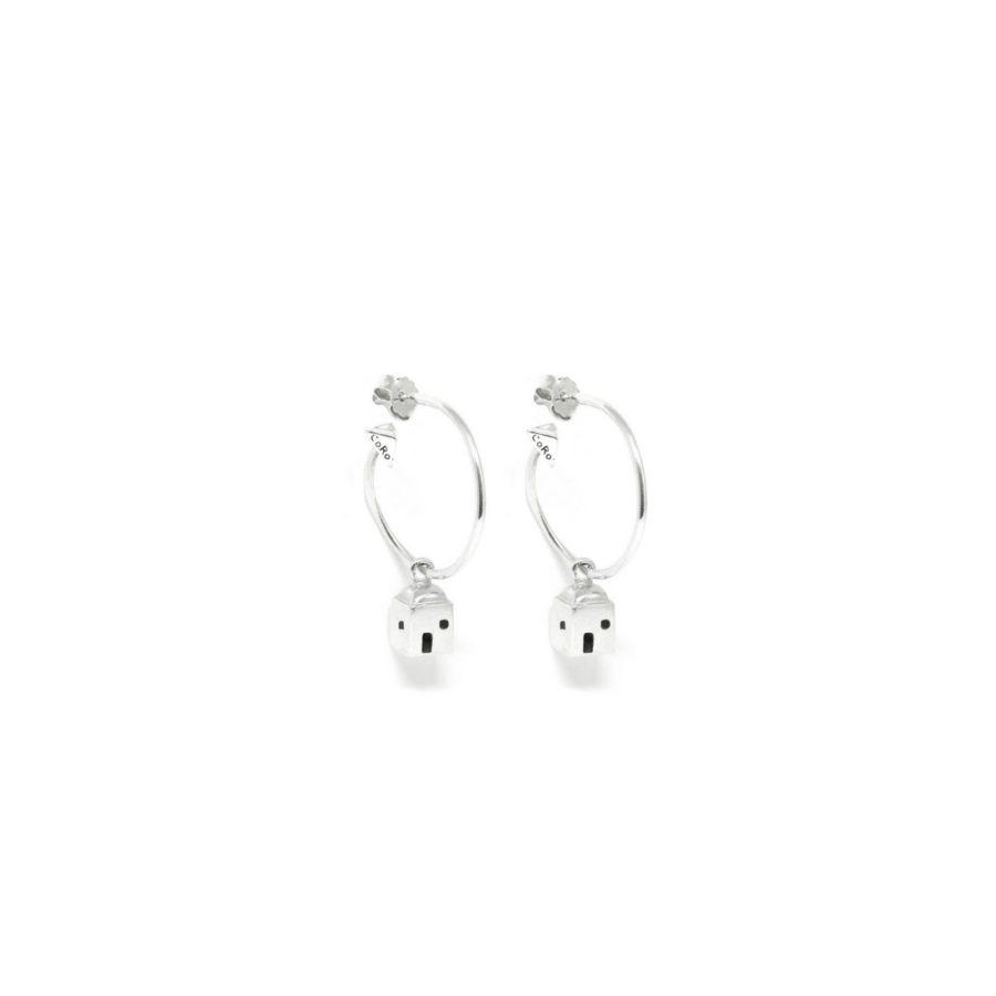 positano_mono_earrings_silver