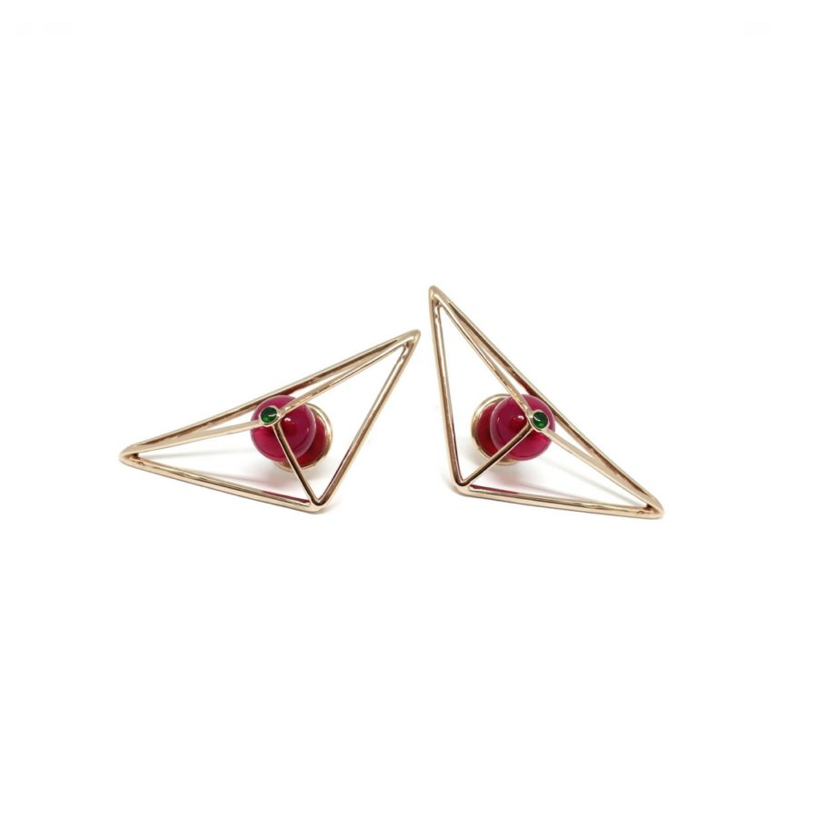 prismatic_wire_earrings_gold_pink1