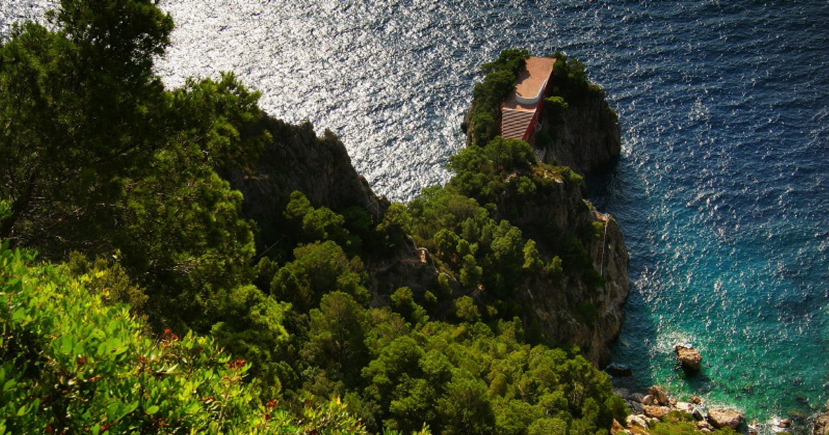 Villa Malaparte | Creative Commons