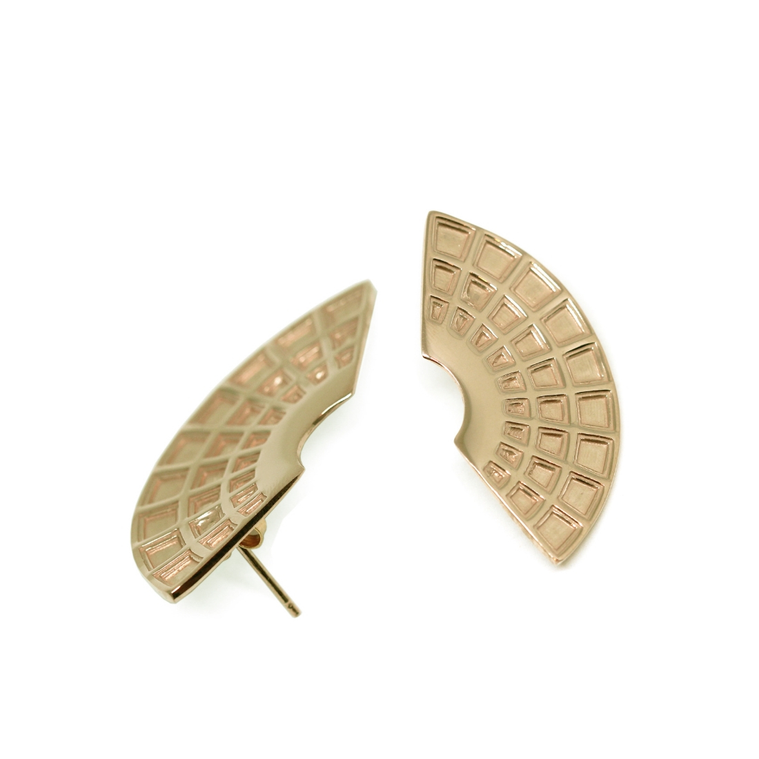Pantheon Earrings Gold-Plated Silver