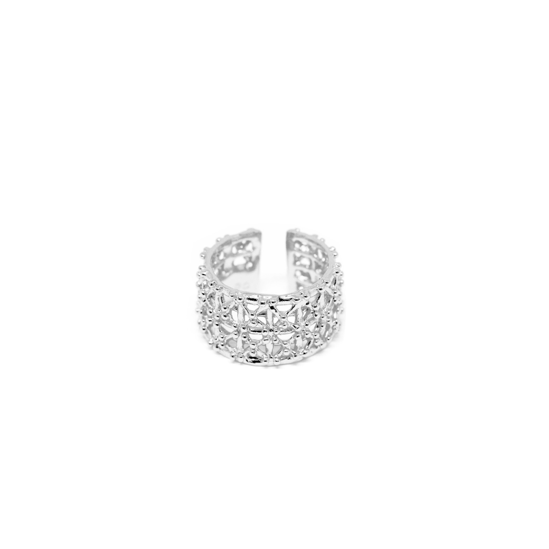 Gasometro Low Ring 925 Sterling Silver
