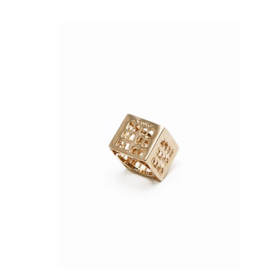 Colosseo Quadrato EUR Roma Co.Ro. Jewels anello oro
