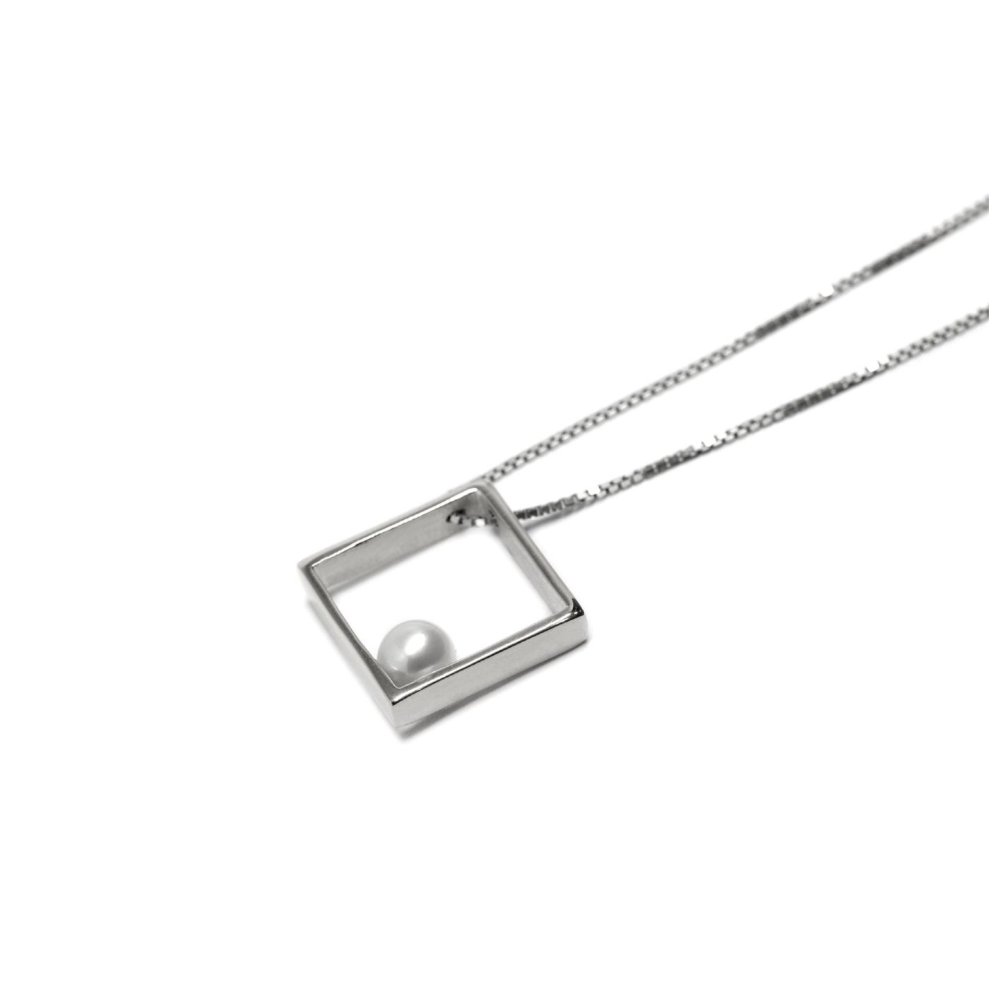 Tokyo Pendant 925 Sterling Silver and Pearl