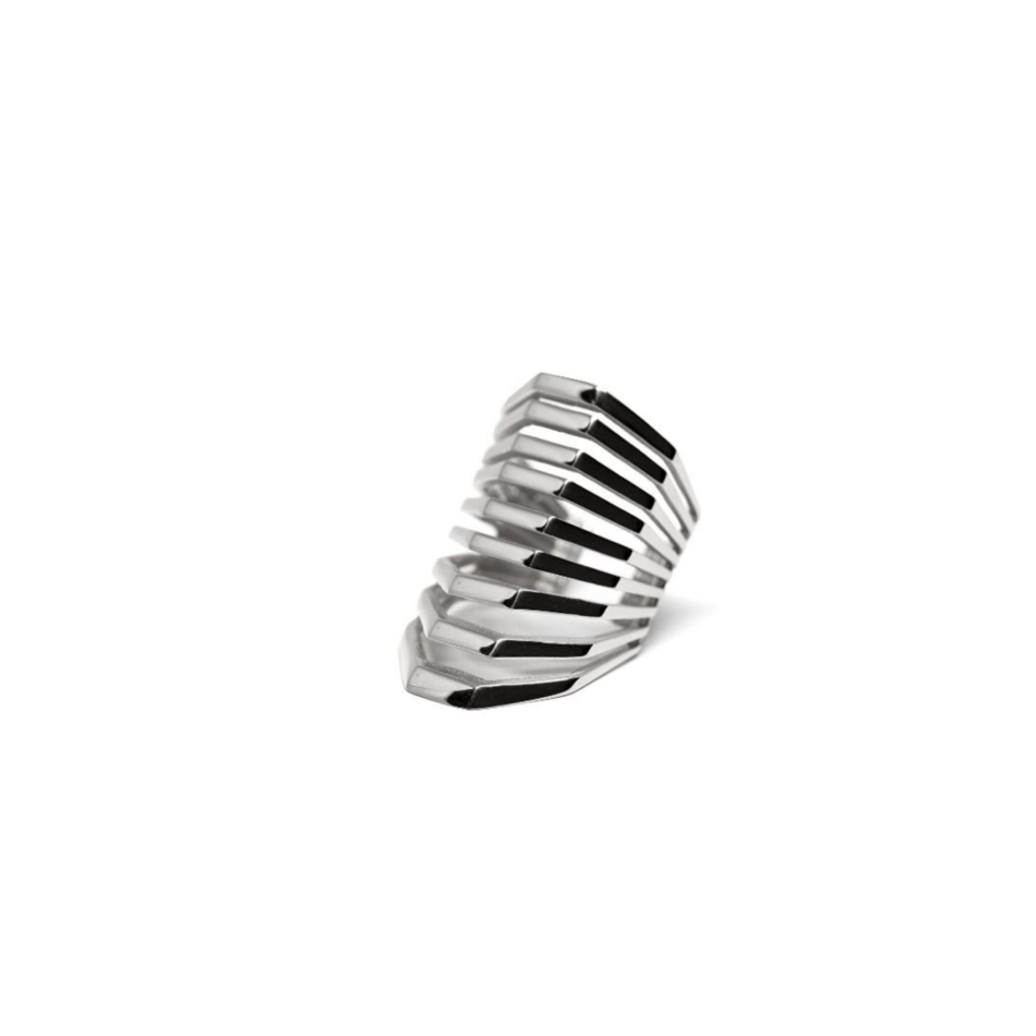 Spanish Steps Co.Ro. Jewels Rome Ring Silver