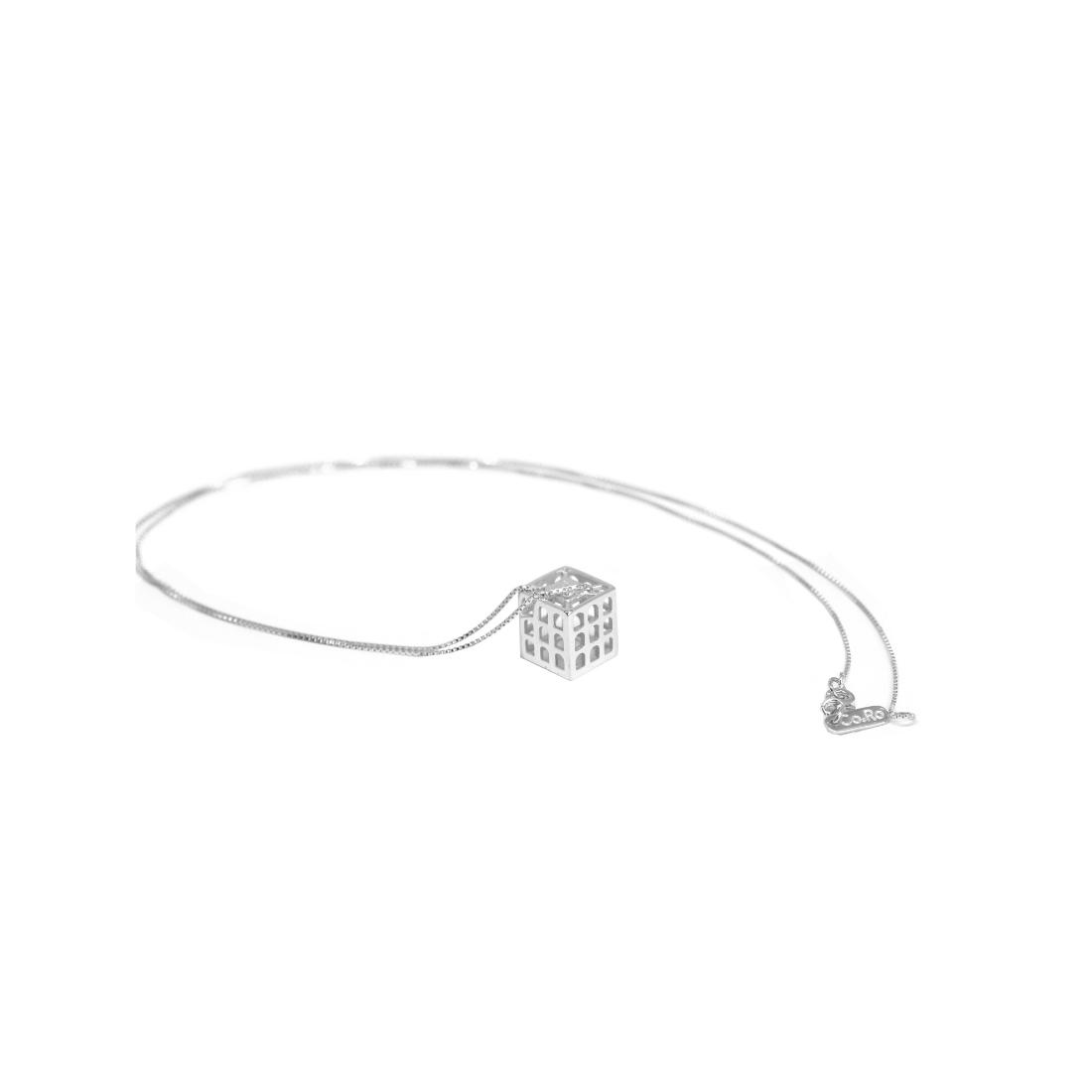Colosseo Quadrato Pendant 925 Sterling Silver