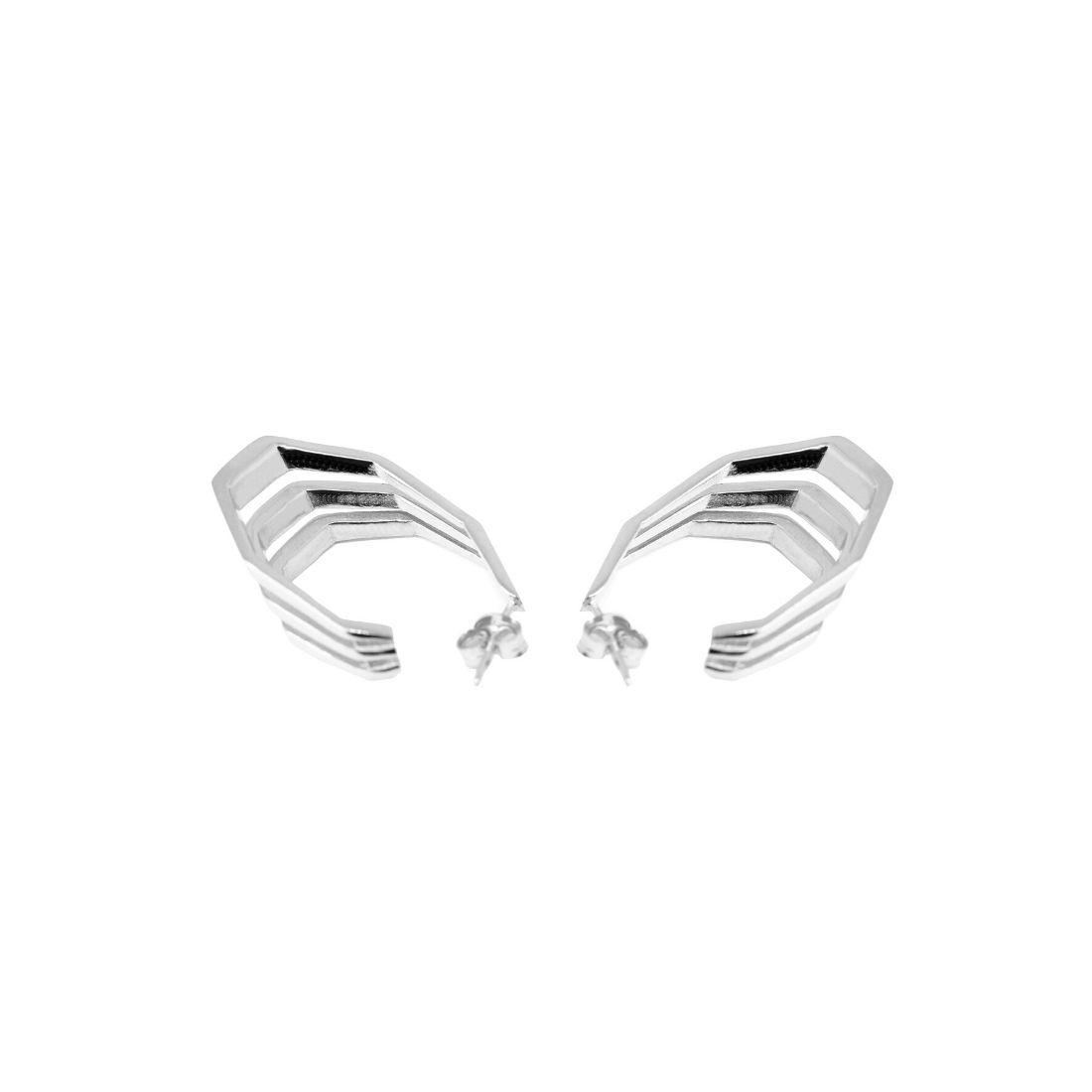Spanish Steps Earrings 925 Sterling Silver