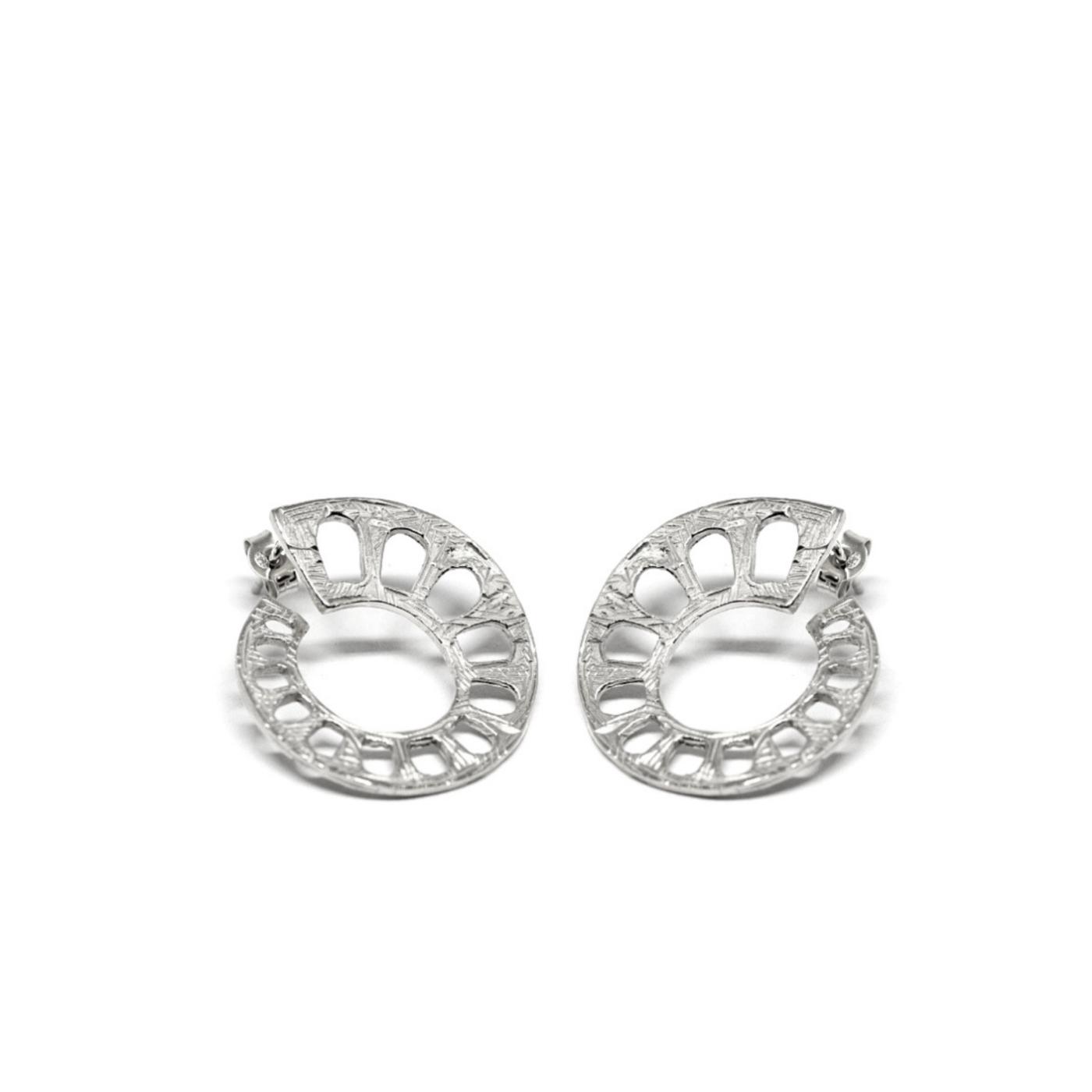Aqueduct Earrings 925 Sterling Silver