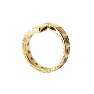 Pantheon Rome Inspired ring
