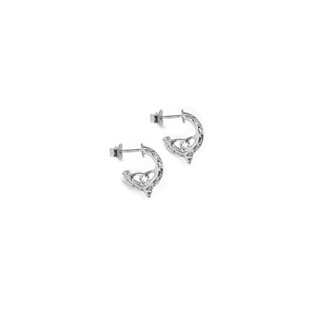 Little Venetian Hoops Earrings 925 Sterling Silver