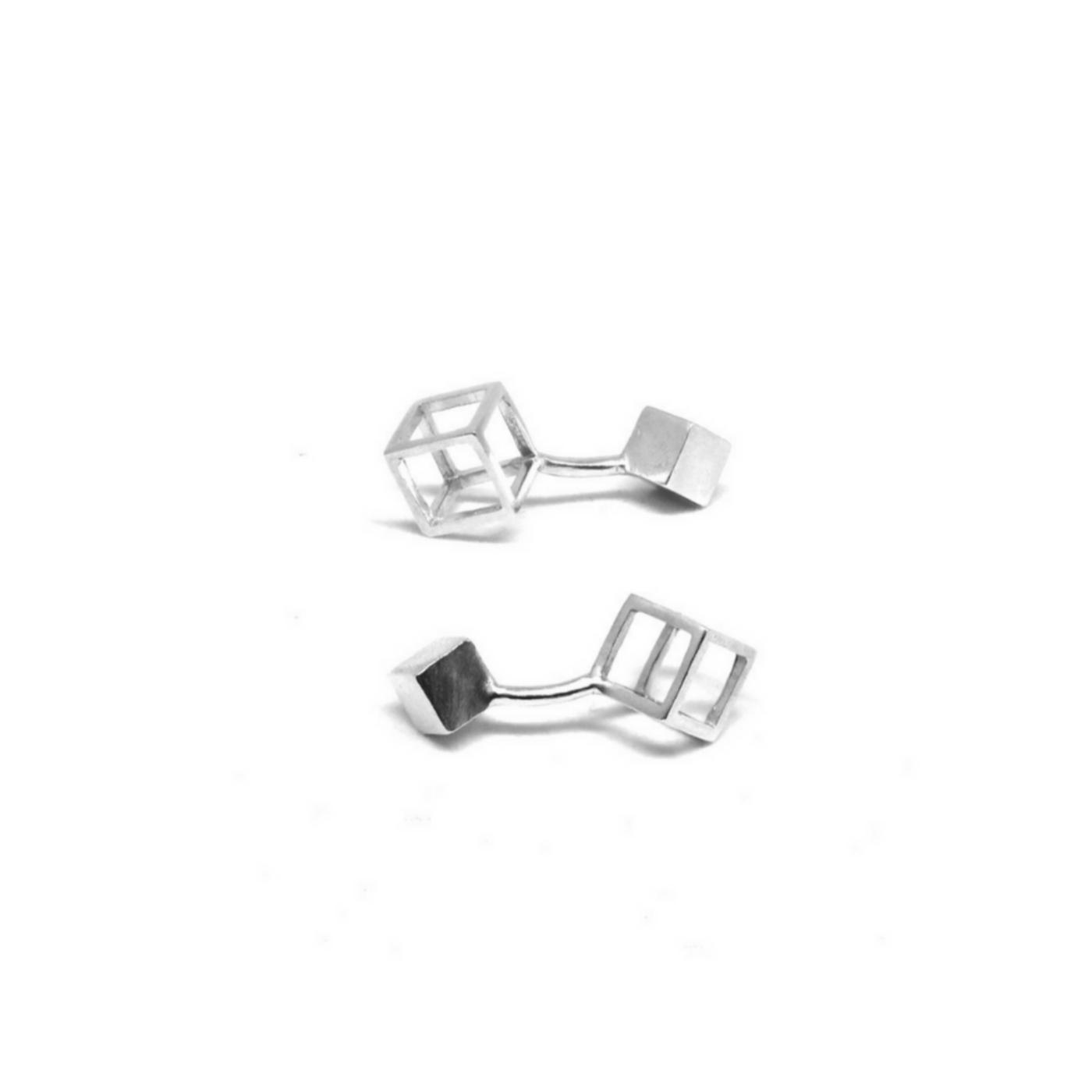 Q.Bo. Cuff Links 925 Silver Sterling
