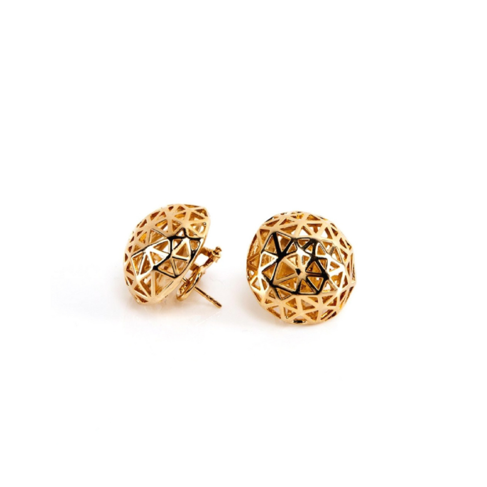 Coco Chanel Earrings Rue Cambon Paris Co.Ro. Jewels gold