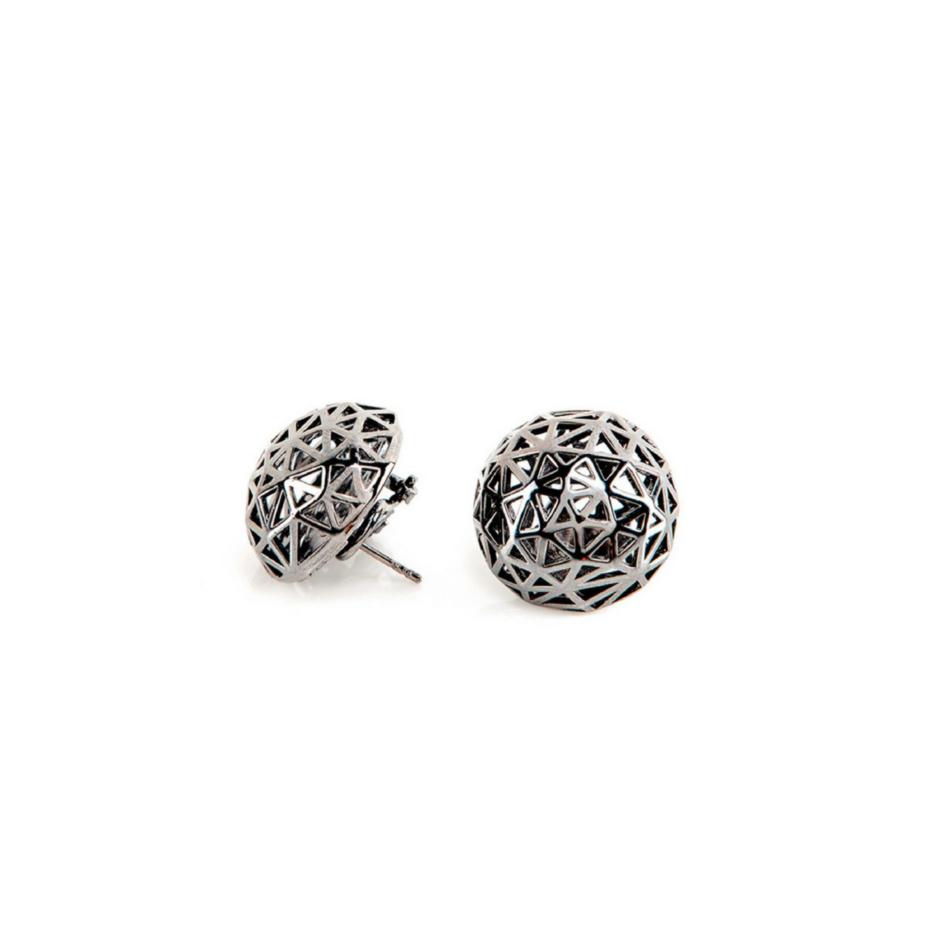 Coco Chanel Earrings Rue Cambon Paris Co.Ro. Jewels ruthenium