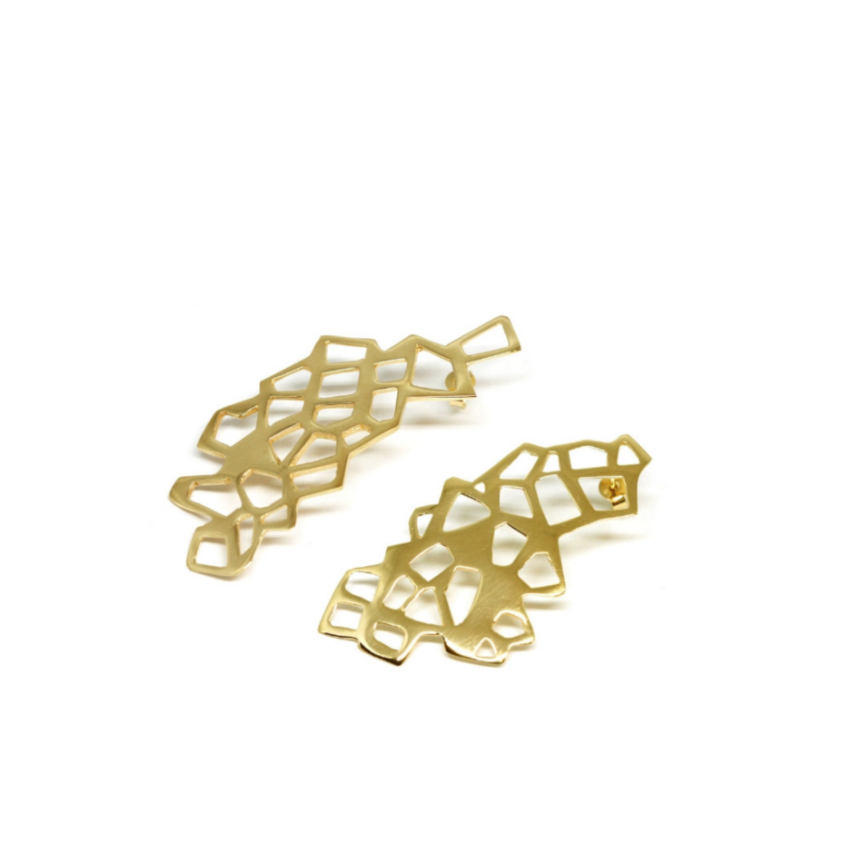 Piscine Lutetia Parigi Lutece Orecchini Co.Ro. Jewels oro