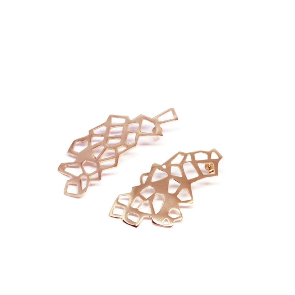 Piscine Lutetia Parigi Lutece Orecchini Co.Ro. Jewels oro rosa