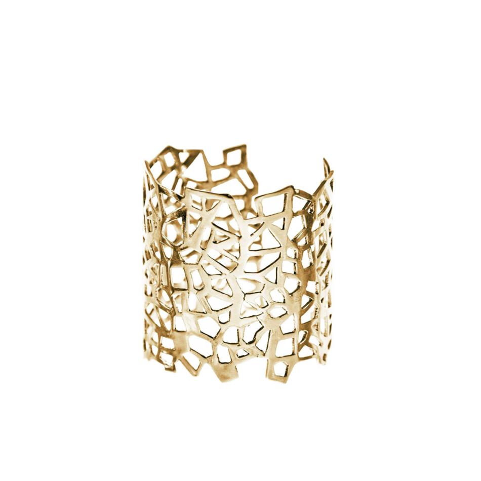 Piscine Lutetia Paris Lutece Cuff Co.Ro. Jewels Gold